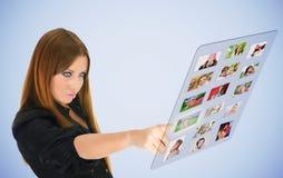 Virtuele vrienden Royalty-vrije Stock Fotografie