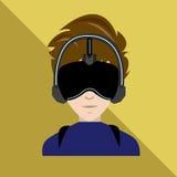 Virtuele werkelijkheid Stock Afbeelding