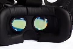 Virtuele werkelijkheidsglazen Stock Afbeelding