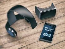 Virtuele Werkelijkheidstechnologie Stock Foto