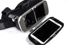 Virtuell verklighetexponeringsglas Arkivfoto