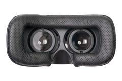 Virtuell verklighetexponeringsglas som isoleras på vit bakgrund Fotografering för Bildbyråer