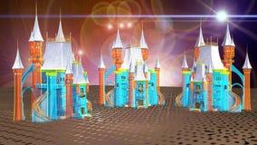 Virtuell verklighetplats vektor illustrationer