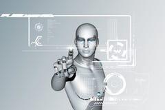 virtuelle Realität 3d Lizenzfreies Stockfoto