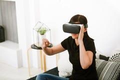 Virtuelle Realität heute Stockbilder