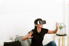 Virtuelle Realität heute Lizenzfreie Stockfotografie