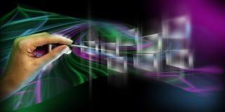 Virtuelle Tastatur Lizenzfreies Stockfoto