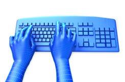 Virtuelle Tastatur Lizenzfreie Stockbilder