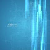 Virtueller abstrakter Hintergrund Stockbild