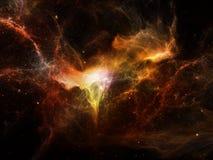Virtueller Kosmos Lizenzfreie Stockfotos