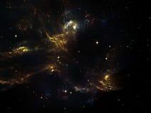 Virtueller Nebelfleck Stockbild