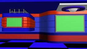Virtueller Studiohintergrund lizenzfreie abbildung