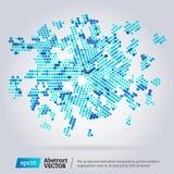 Virtueller Technologiekreis Lizenzfreies Stockfoto