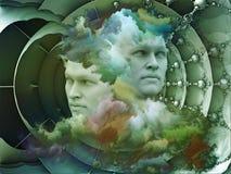Virtueller Traum Stockbild