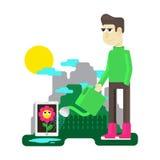 Virtuelles Haustier Lizenzfreies Stockbild