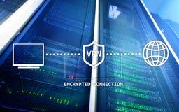 Virtuelles privates Netz, VPN, Datenverschlüsselung, IP-Ersatz Stockfotos