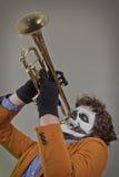 Virtuose de trompette image libre de droits