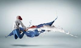 Virtuoso dancer Royalty Free Stock Image