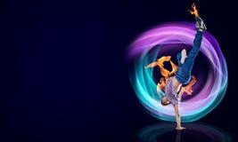 Virtuoso dancer Stock Photo
