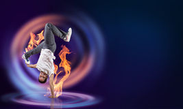 Virtuoso dancer Royalty Free Stock Photos