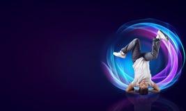 Virtuoso dancer Stock Image
