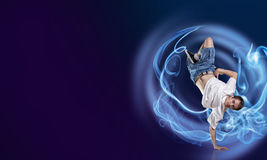 Virtuoso dancer Stock Photography