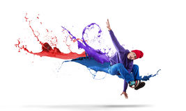 Virtuoso dancer Royalty Free Stock Images