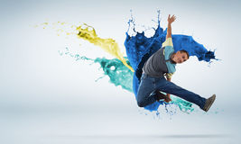 Virtuoso dancer Stock Photography