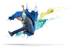 Virtuoso dancer Royalty Free Stock Photography