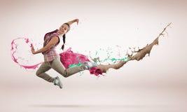 Virtuoso dancer Stock Photos