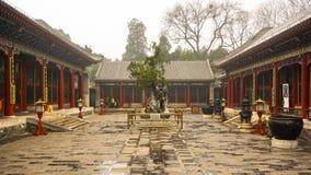 Virtuous Harmony Court, Summer Palace, Beijing, China. Virtuous Harmony Court, The Summer Palace, Beijing, China Royalty Free Stock Images