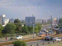 Virtutii road in Crangasi neighborhood in Bucharest Royalty Free Stock Photo