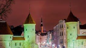 Viru Gates in Tallinn, Estonia Stock Photos