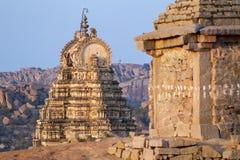 Virupaksha świątynia w Hampi, Karnataka Obrazy Royalty Free
