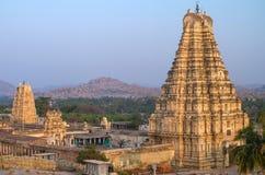 Virupaksha-Tempel in Hampi stockfotos