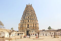 Virupaksha tempel, Hampi, Indien Royaltyfri Foto