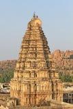 Virupaksha tempel, Hampi, Indien Royaltyfria Bilder