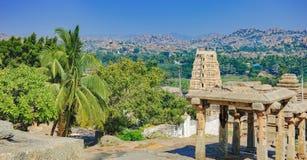 Virupaksha Tempel in Hampi, Indien lizenzfreies stockbild