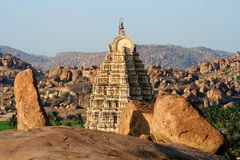 Virupaksha temple Royalty Free Stock Photography