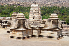 Virupaksha Temple, Hampi. Karnataka state, India royalty free stock photos