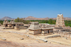 Virupaksha Temple, Hampi. Karnataka state, India royalty free stock image