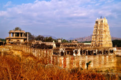 Virupaksha temple at Hampi Royalty Free Stock Photo