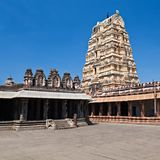 Virupaksha Temple, Hampi. Karnataka state, India royalty free stock photo