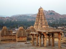 Ancient Virupaksha Temple, Hampi stock photos