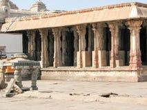 Virupaksha Temple, located in the ruins of ancient city Vijayanagar at Hampi, India. Stock Image