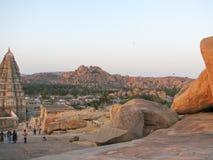 Virupaksha Temple, located in the ruins of ancient city Vijayanagar at Hampi, India. Stock Images