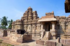 Virupaksha temple, Pattadakal, Karnataka. Virupaksha temple, Pattadakal Karnataka India stock image