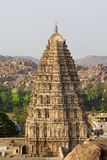 Virupaksha Temple tower. In Hampi, India royalty free stock photo