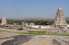 Virupaksha Temple at Vijayanagara Royalty Free Stock Photo