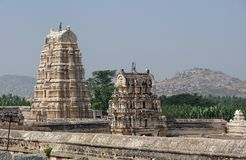 Virupaksha Temple at Vijayanagara Royalty Free Stock Images